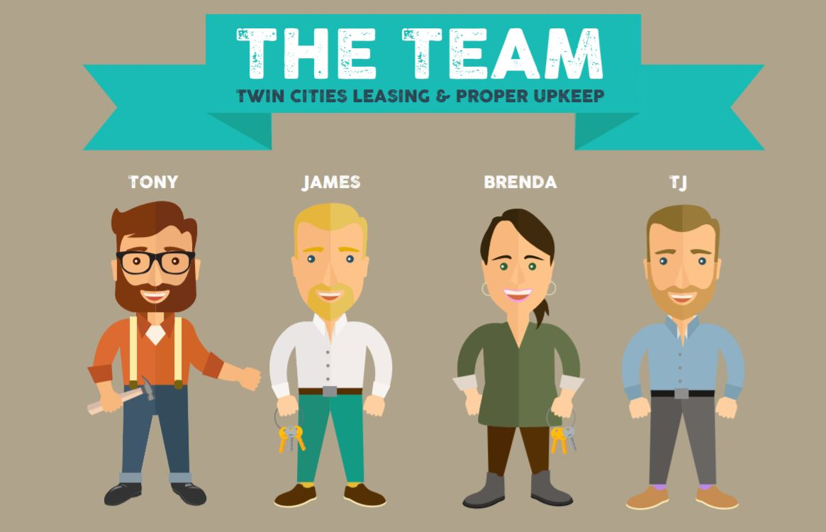 Rent my Home in Minneapolis - Twin Cities Leasing Team Flyer