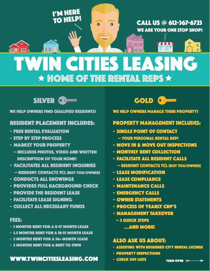 Rent my home near minneapolis MN - Twin Cities Leasing - Minnesota Property Managers 1